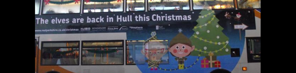 Hull BID leads drive to help put shoppers on the buses