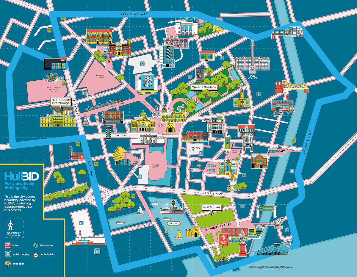 Hull Bid Map